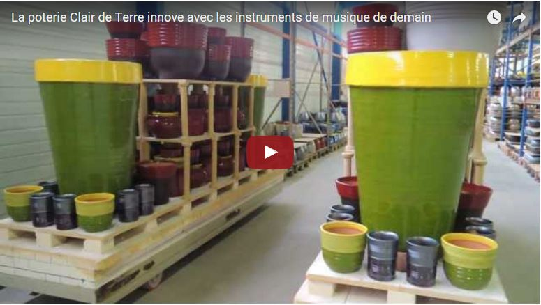 Nos poteries chantent en vidéo