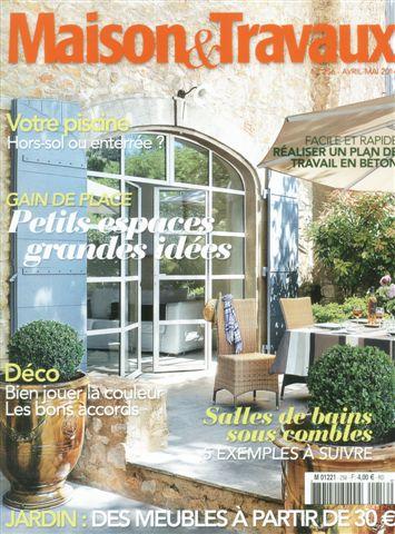 maison travaux magazine gallery of magazine maison et. Black Bedroom Furniture Sets. Home Design Ideas
