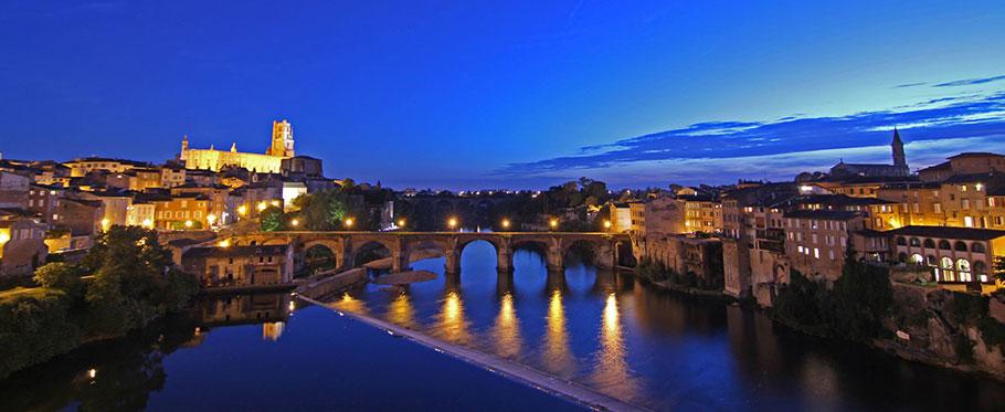 Le pont vieux d'Albi par Loïc Bourniquel