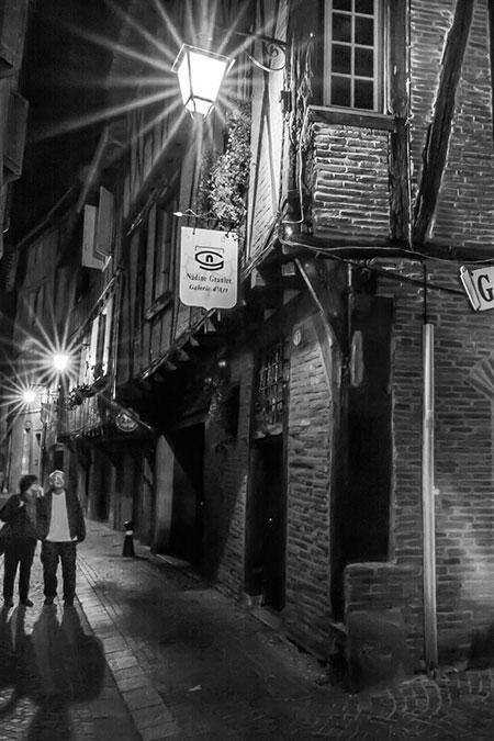 Albi la nuit par Loïc Bourniquel