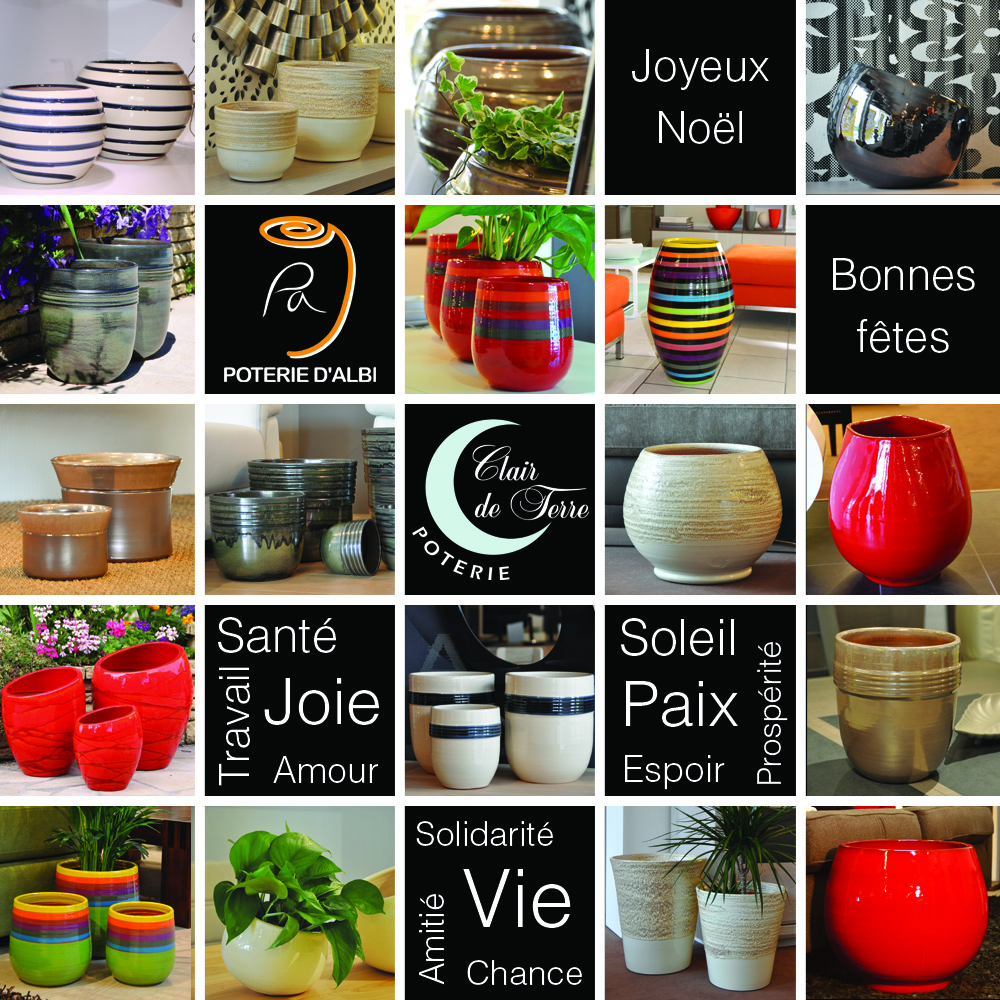 joyeux no l les poteries d 39 albi. Black Bedroom Furniture Sets. Home Design Ideas