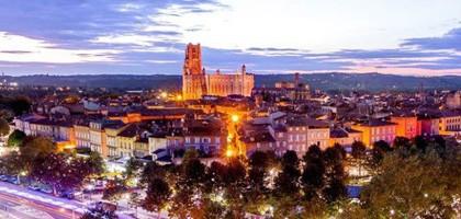 Vue de la ville d'Albi par Loïc Bourniquel