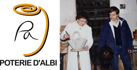 Elisabeth et Bernard Camillo et La poterie d'Albi