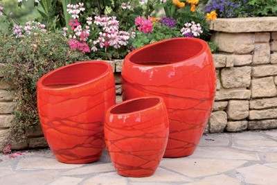 Ensemble de pots Orion de la collection Soleil couchant