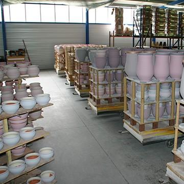 l'atelier d'enfournement des poteries d'Albi