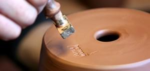 L'estampille des petites pièces des poteries d'Albi