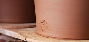 L'estampille d'un grand pot des poteries d'Albi