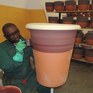 Le patineur à l'atelier des poteries d'Albi