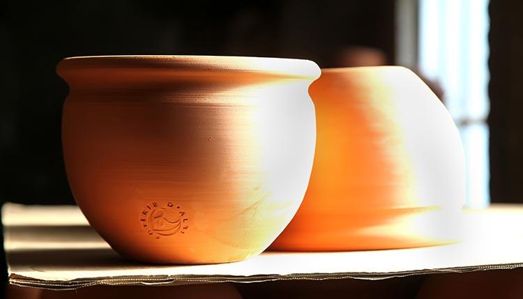 Le séchoir des poteries d'Albi