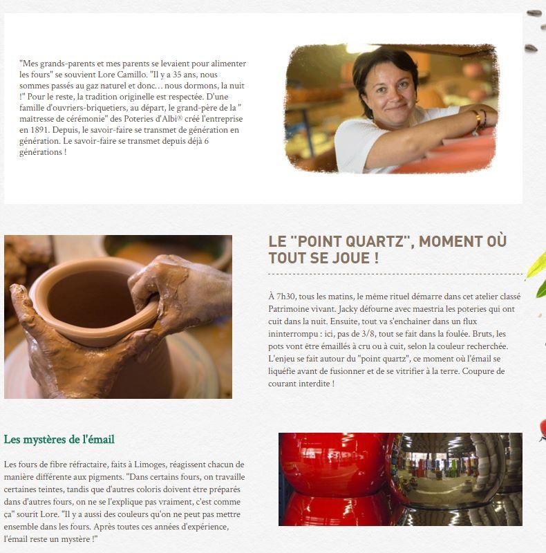 Les jardinerie de Botanic parlent de l'Art des poteries d'Albi