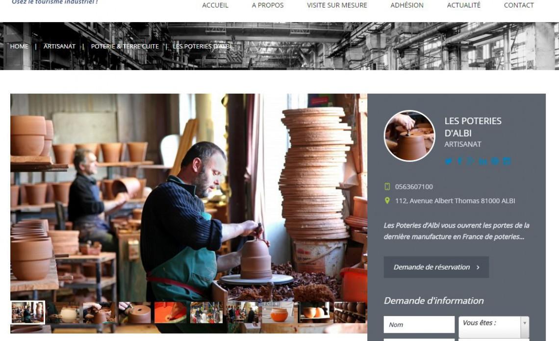 Tourisme industriel participatif visite