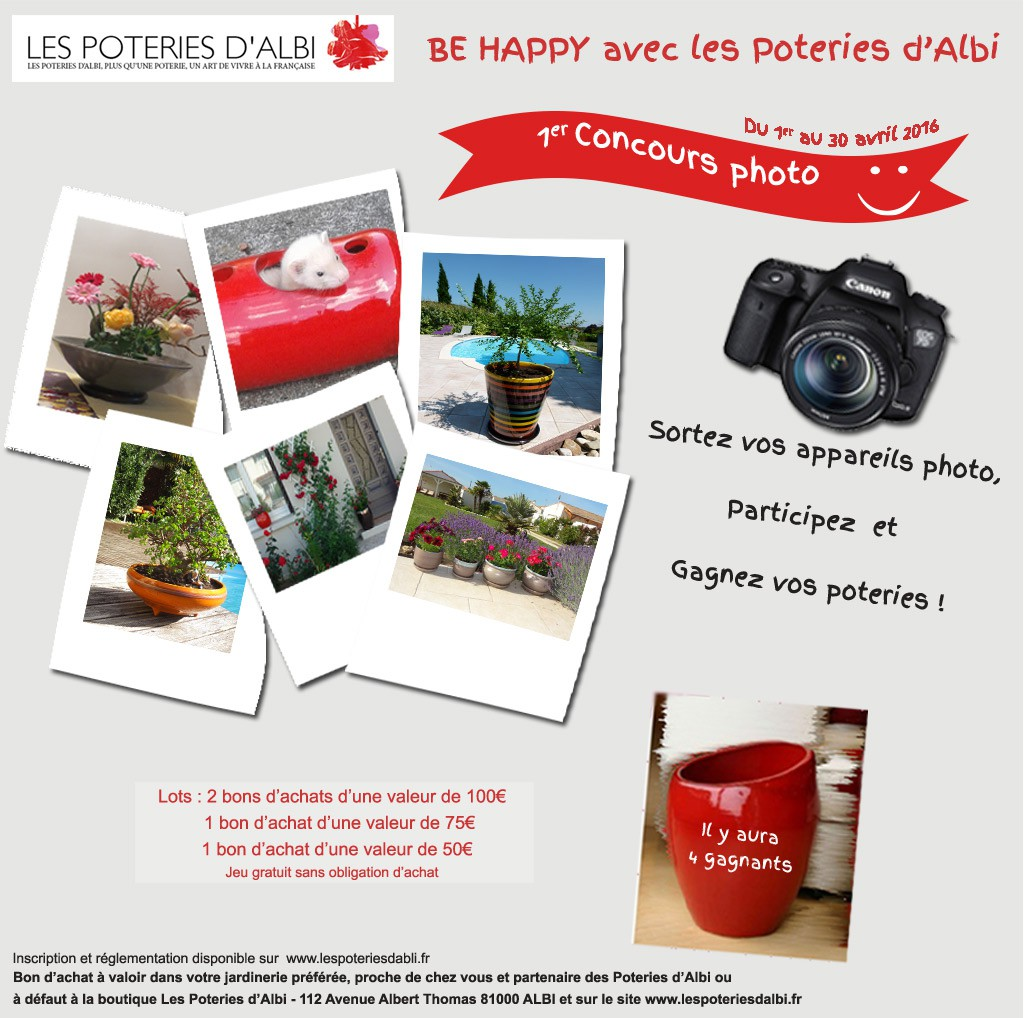 Jeu concours photo Be Happy