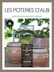nouveau catalogue 2017 les poteries d 39 albi. Black Bedroom Furniture Sets. Home Design Ideas