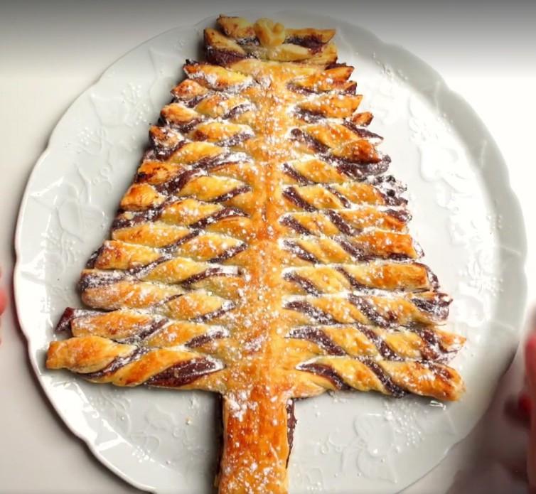 Le sapin de Noël au Nutella