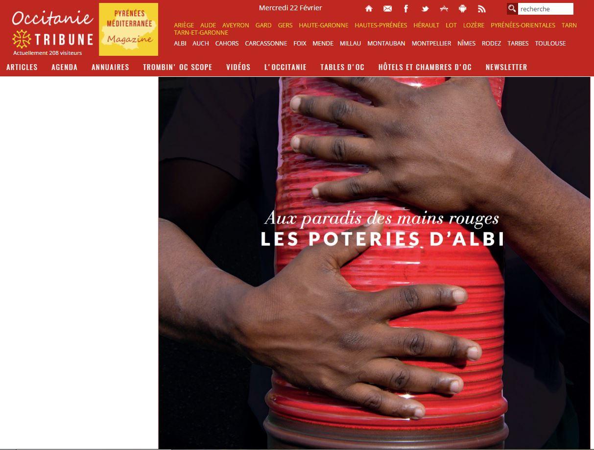 Occitanie Tribune parle de nous