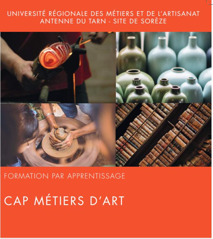 CAP METIERS D'ART SOREZE