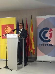 Inauguration centre de formation CCi Tarn
