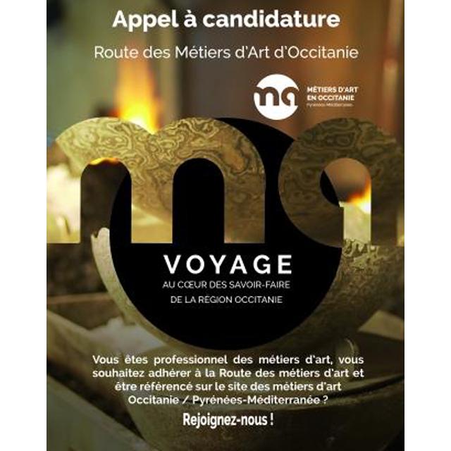 Route des métiers d'Art en Occitanie