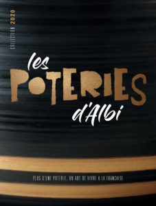 Catalogue 2020 Les Poteries d'Albi