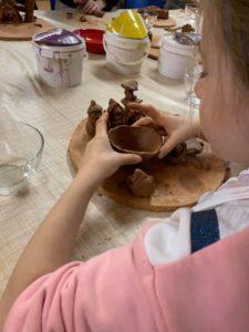Ateliers poteries enfants à Albi