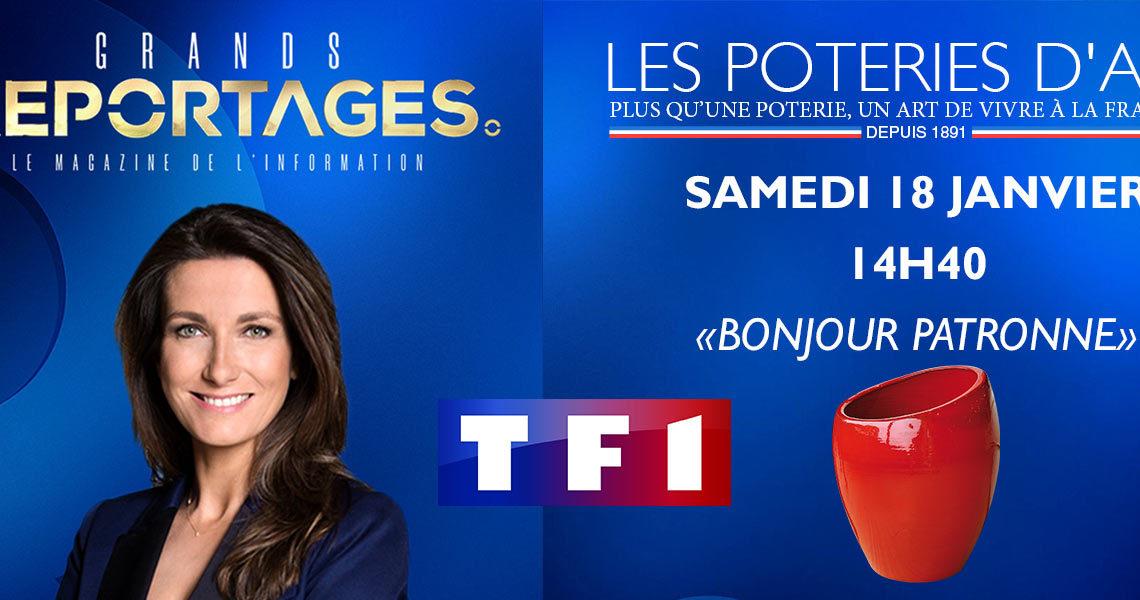 TF1 Grand reportage Les Poteries d'Albi