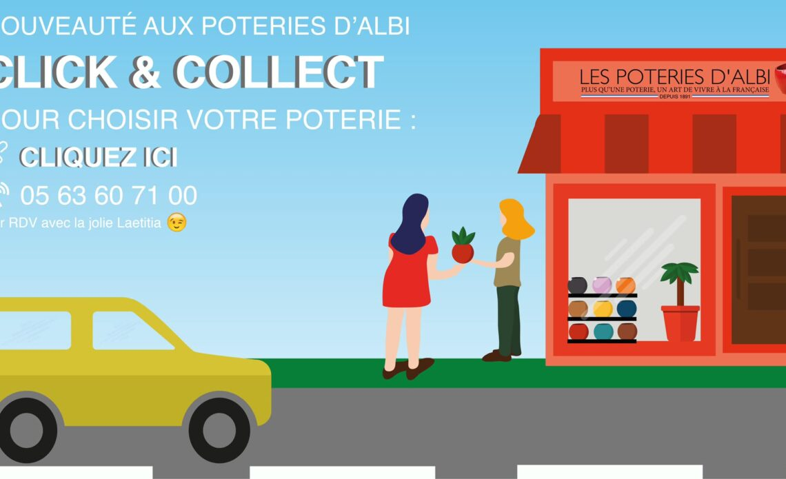 Le Click and Collect aux Poteries d'Albi