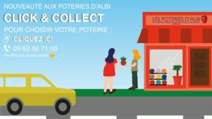 Click and Collect Poterie Albi